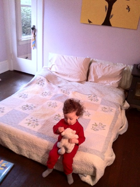 I Love a Mattress on the Floor | Savvy Parenting Support- The Blog